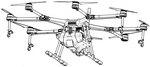 Agricultural Drone DJJ Agras MG-1 (Source: djj catalogue)